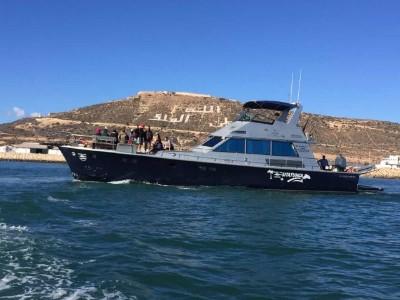 Tour en bateau à Agadir